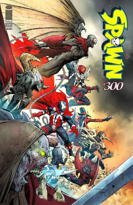 Image Comics Spawn #300 Comic Book [Jerome Opena Variant Cover H]