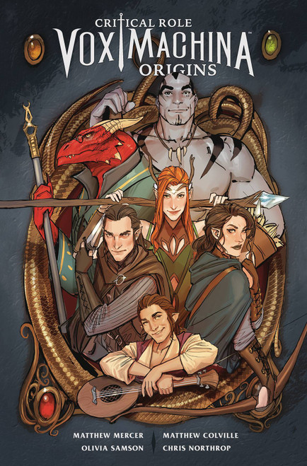 Dark Horse Critical Role Vox Machina Origins Volume 1 Trade Paperback Comic Book