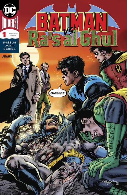 DC Batman Vs Ras Al Ghul #1 of 6 Comic Book