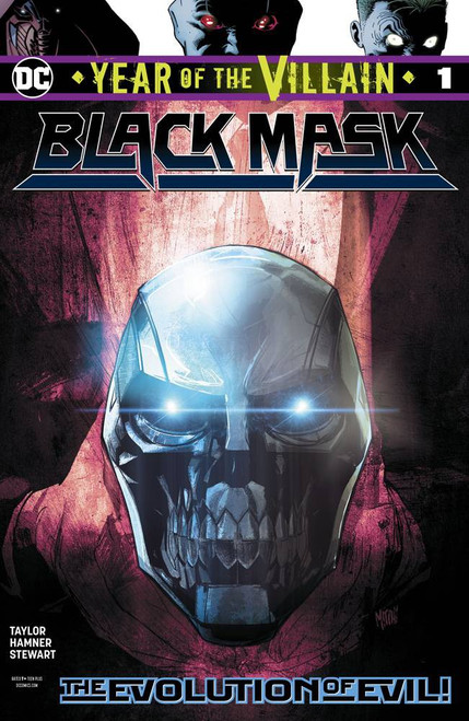 DC Black Mask Year Of The Villain #1 Comic Book