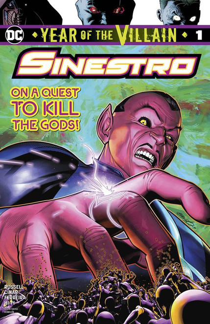 DC Sinestro Year Of The Villain #1 Comic Book