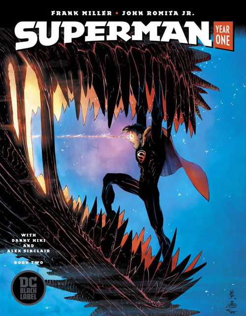 DC Black Label Superman Year One #2 of 3 Comic Book [John Romita Cover]