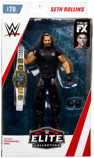 WWE Wrestling Elite Collection Series 70 Seth Rollins Action Figure