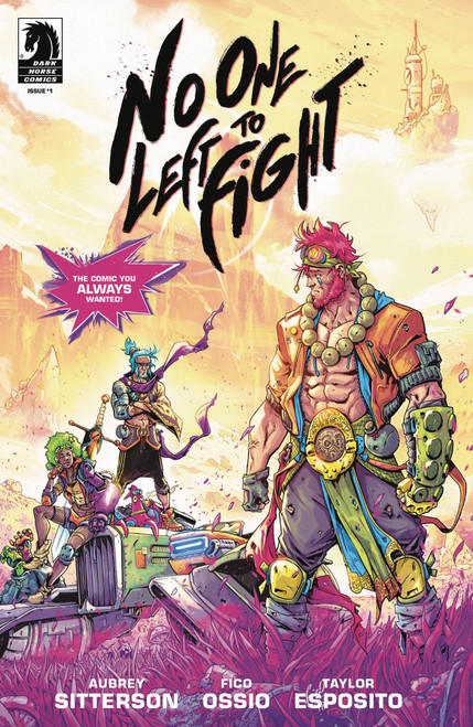 Dark Horse No One Left to Fight #1 Comic Book