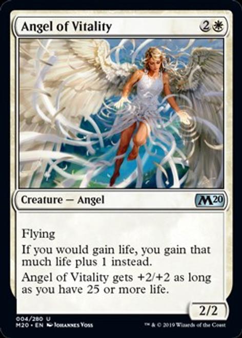 MtG 2020 Core Set Uncommon Angel of Vitality #4