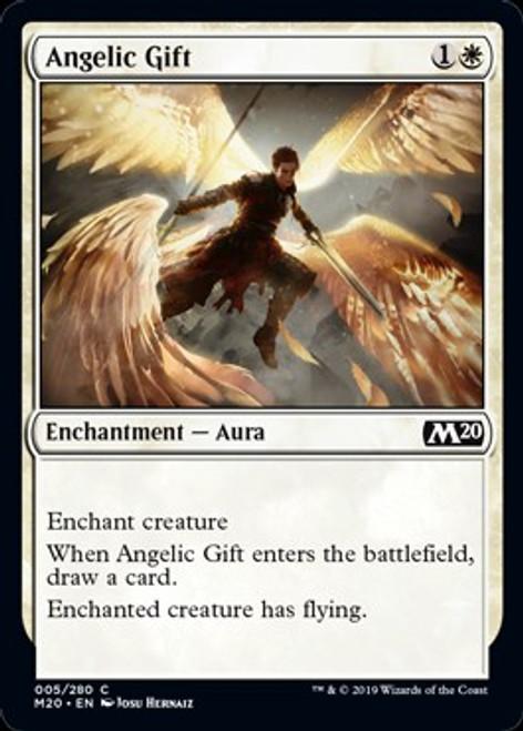 MtG 2020 Core Set Common Angelic Gift #5