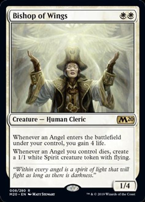 MtG 2020 Core Set Rare Bishop of Wings #8
