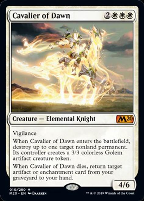 MtG 2020 Core Set Mythic Rare Cavalier of Dawn #10