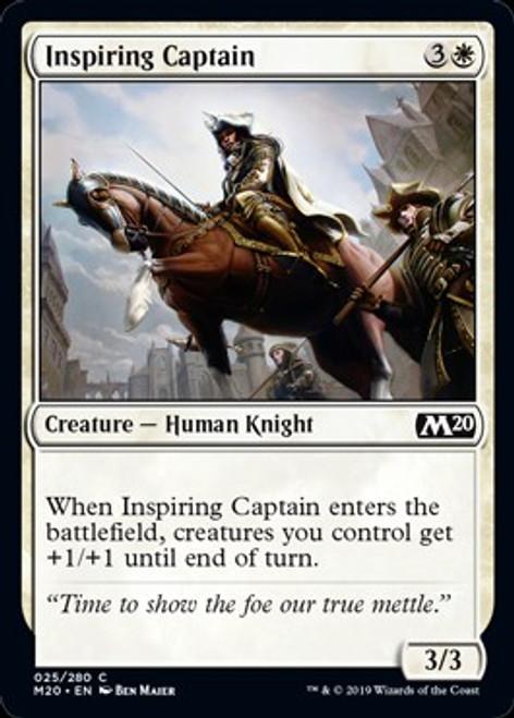 MtG 2020 Core Set Common Inspiring Captain #25