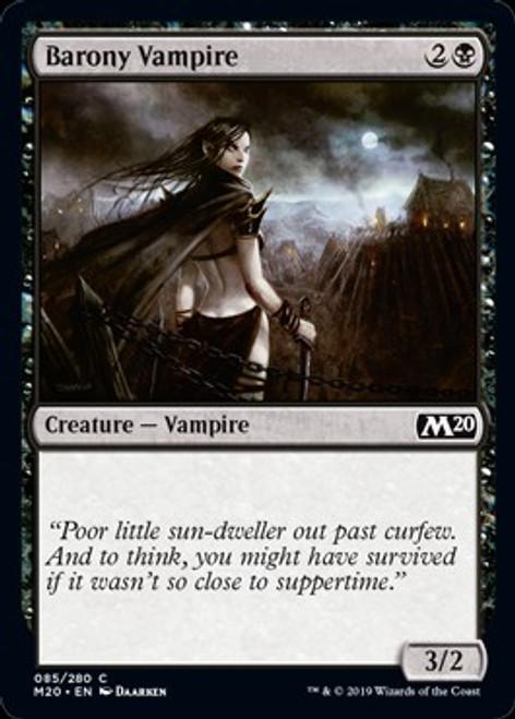 MtG 2020 Core Set Common Barony Vampire #85