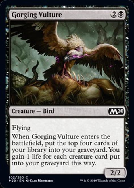 MtG 2020 Core Set Common Gorging Vulture #102