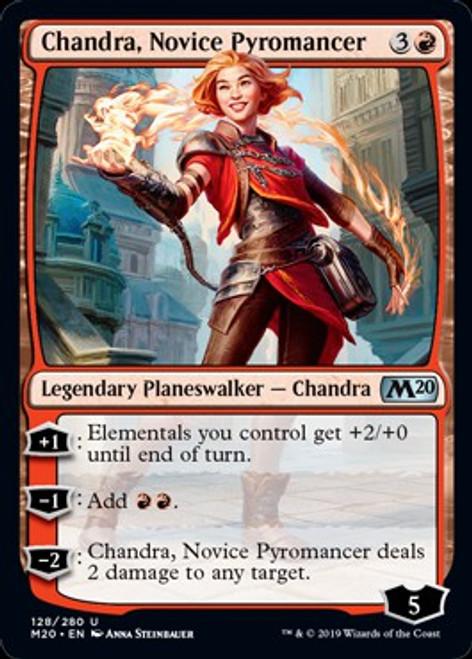 MtG 2020 Core Set Uncommon Chandra, Novice Pyromancer #128