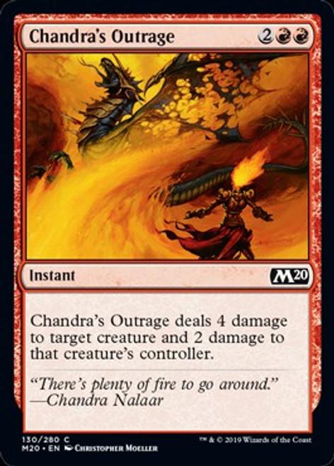 MtG 2020 Core Set Common Chandra's Outrage #130