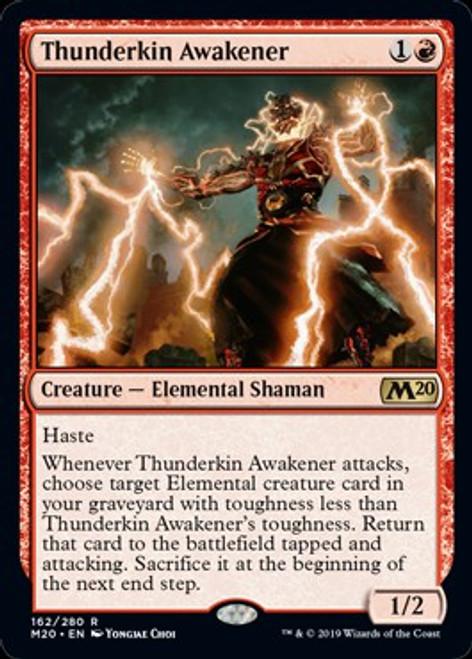MtG 2020 Core Set Rare Thunderkin Awakener #162