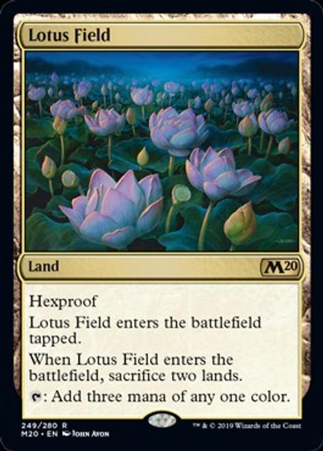 MtG 2020 Core Set Rare Lotus Field #249