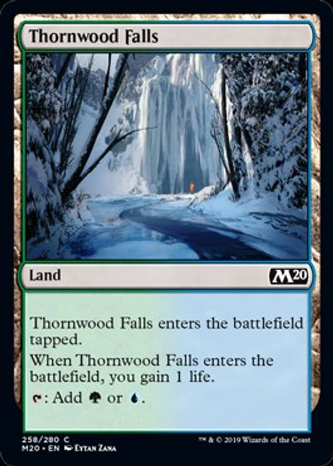 MtG 2020 Core Set Common Thornwood Falls #258