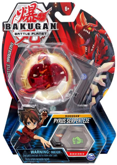 Bakugan Battle Planet Battle Brawlers Bakugan Pyrus Serpenteze