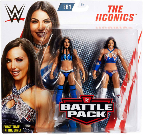 WWE Wrestling Battle Pack Series 61 Billie Kay & Peyton Royce Action Figure 2-Pack [IIconics]