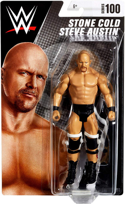 WWE Wrestling Series 100 Stone Cold Steve Austin Action Figure