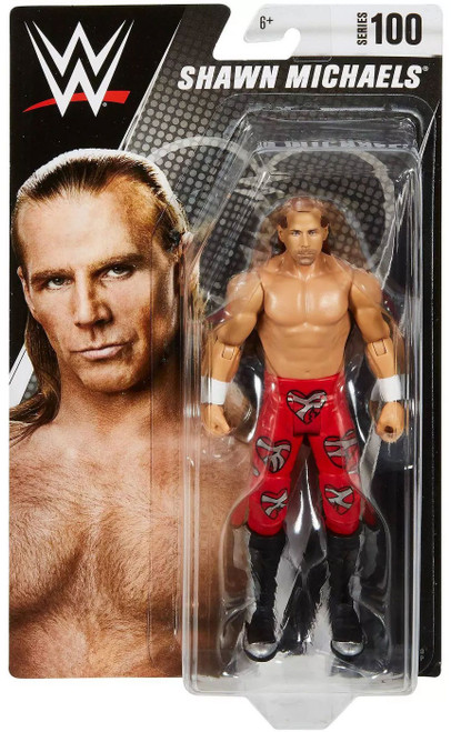 WWE Wrestling Series 100 Shawn Michaels Action Figure [Solid Red Pants]