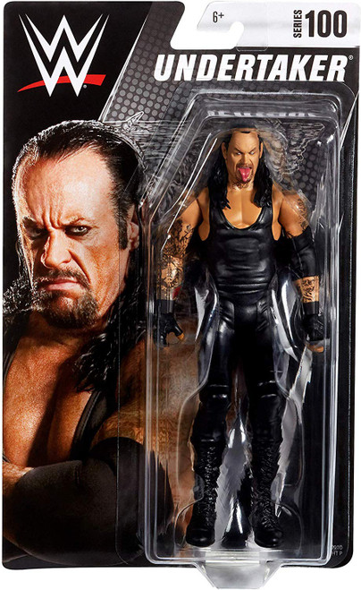 WWE Wrestling Series 100 Undertaker Action Figure
