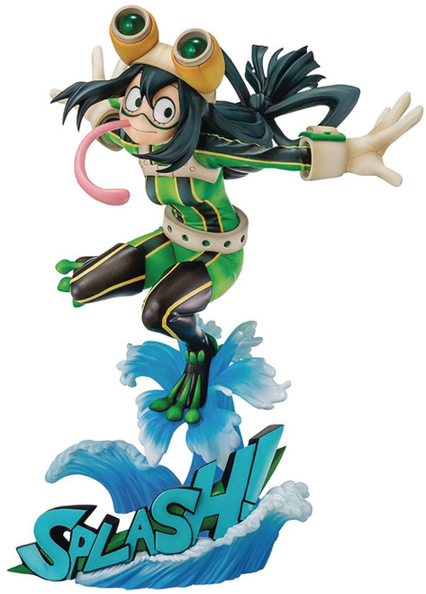 My Hero Academia Tsuyu Asui 8-Inch Collectible PVC Figure [Hero Suit] (Pre-Order ships November)