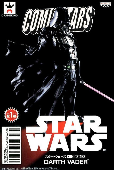 Star Wars Comic Stars Darth Vader 6.2-Inch Collectible PVC Figure