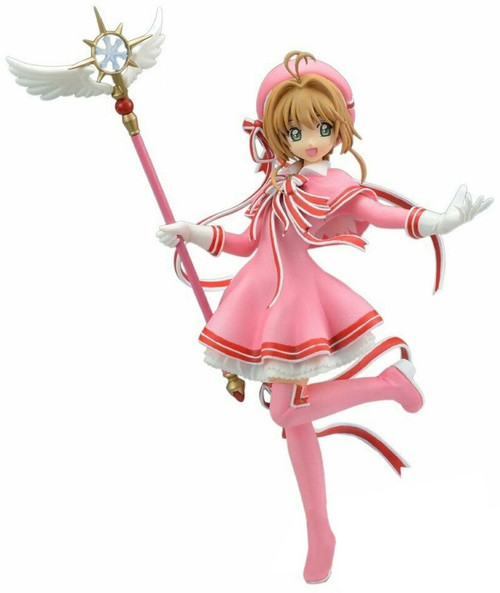Sega Cardcaptor Sakura: Clear Card Sakura 8.6-Inch Collectible PVC Figure