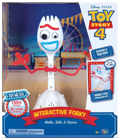 Toy Story 4 Interactive Forky Talking Action Figure [Walks, Talks & Dances]