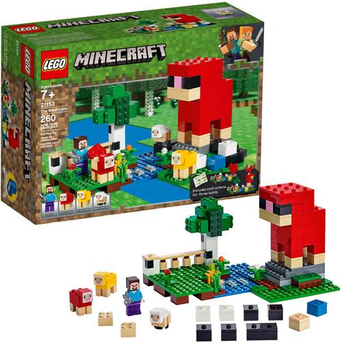 LEGO Minecraft The Wool Farm Set #21153