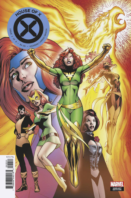 Marvel Comics House of X #2 Comic Book [Character Decades Variant Cover]