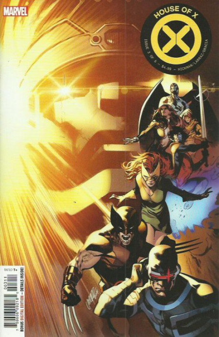 Marvel Comics House of X #3 Comic Book