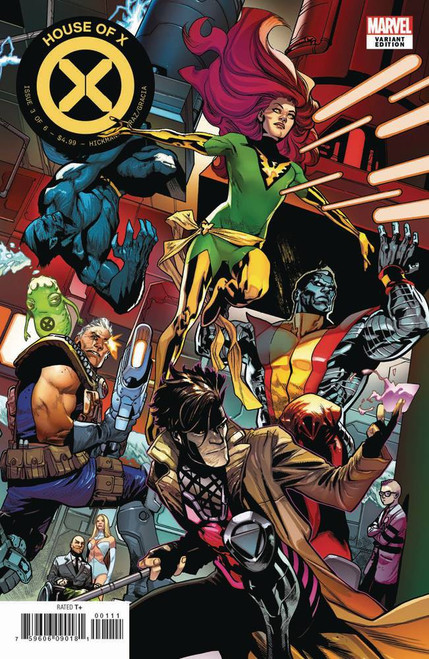 Marvel Comics House of X #3 Comic Book [Asrar Connecting Variant Cover]
