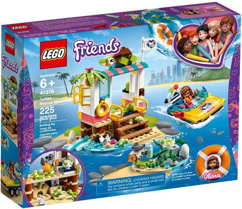 LEGO Friends Turtles Rescue Mission Set #41376