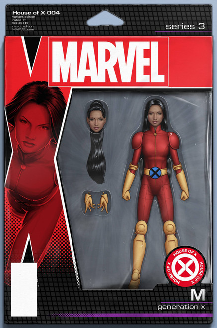 Marvel Comics House of X #4 Comic Book [Christopher Action Figure Variant Cover]