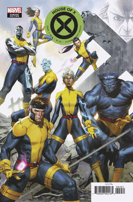 Marvel Comics House of X #4 Comic Book [Molina Variant Cover]