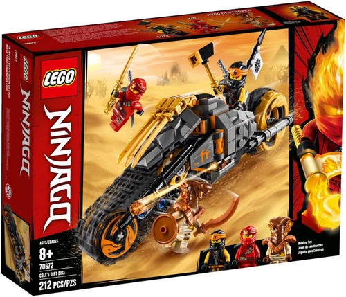 LEGO Ninjago Legacy Cole's Dirt Bike Set #70672
