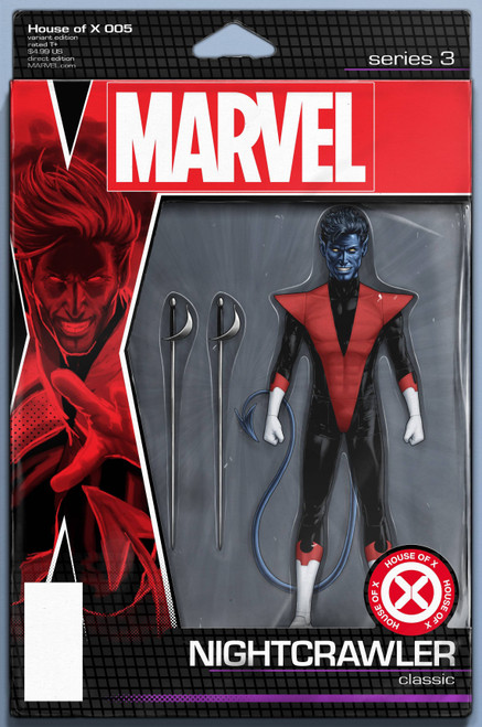 Marvel Comics House of X #5 Comic Book [Christopher Action Figure Variant Cover]
