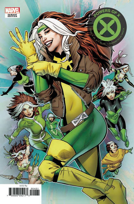 Marvel Powers of X #4 Comic Book [Character Decades Variant Cover]