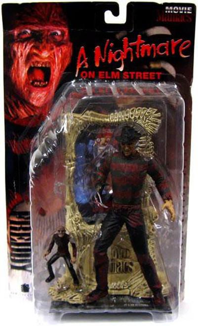 McFarlane Toys Nightmare on Elm Street Movie Maniacs Series 1 Freddy Krueger Action Figure [Bloody, Damaged Package]