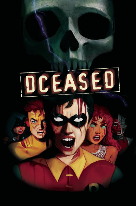 DCeased #4 of 6 Comic Book [Tasia M.S. Card Stock Horror Variant Cover]
