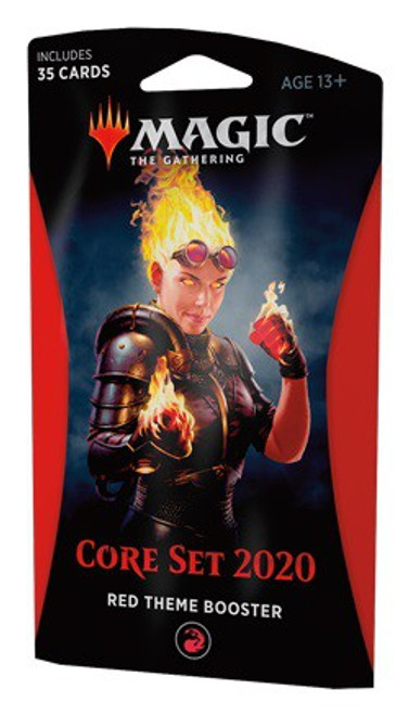MtG Trading Card Game 2020 Core Set Theme Booster [Red]