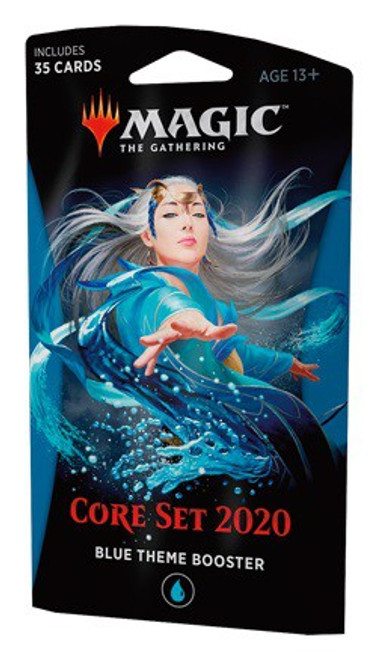 MtG Trading Card Game 2020 Core Set Theme Booster [Blue]