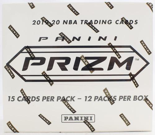 NBA Panini 2019-20 Prizm Basketball Trading Card CELLO Box [12 Packs]