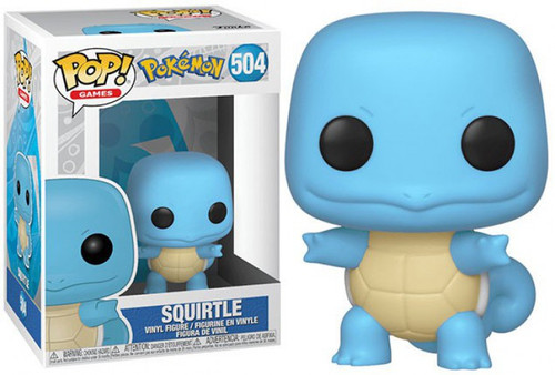 Funko Pokemon POP! Games Squirtle Vinyl Figure #504