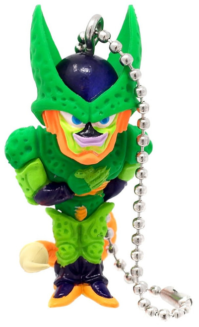 Dragon Ball Super UDM Best 36 Cell 2nd Form 1.5-Inch Keychain Clip-On