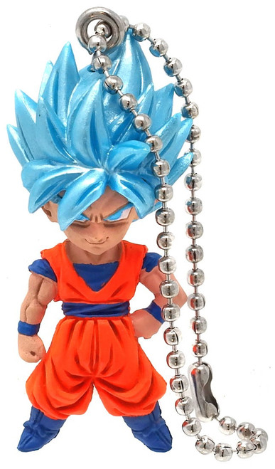 Dragon Ball Super UDM Best 36 SSGSS Goku 1.5-Inch Keychain Clip-On