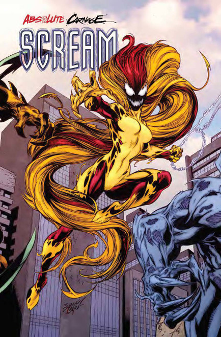 Marvel Comics Absolute Carnage Scream #2 Comic Book [Mark Bagley Connecting Variant Cover]