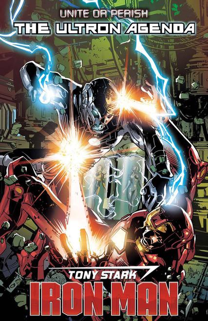 Marvel Comics Tony Stark: Iron Man #16 Comic Book [Mike Deodato Variant Cover]