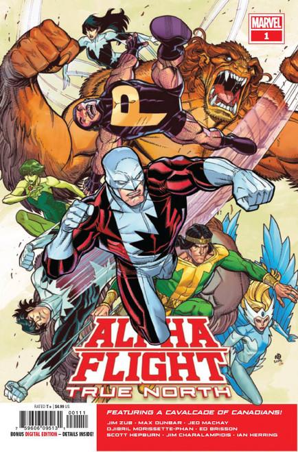 Marvel Comics Alpha Flight True North #1 Comic Book
